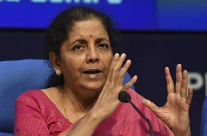 Finance Minister  Says Surcharge On FPIs And Domestic Investors Revoked - Sakshi