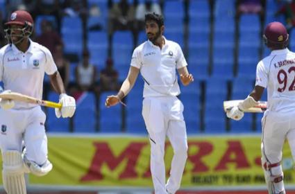 Bumrah Beats Ashwin To Achieve 50 Wickets Feat In Tests - Sakshi
