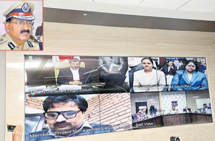 Judicial Inquiry Speedup With ICJS - Sakshi