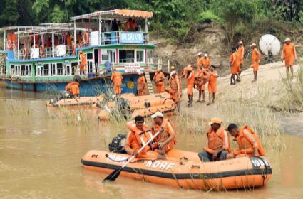 Godavari Boat Accident:Rescue Operation Continues  - Sakshi