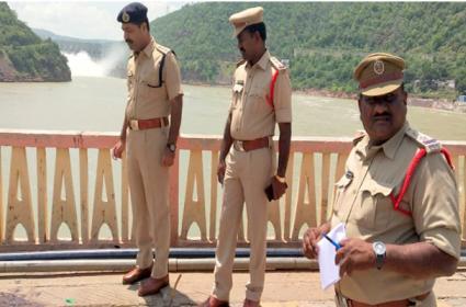Blood Marks Found On Krishna Bridge Near Acchampet - Sakshi