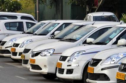 Cab Services And Autos Double Charges in Hyderabad - Sakshi