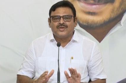 YSRCP MLA Ambati Rambabu Slams Chandrababu Naidu In Tadepalli - Sakshi