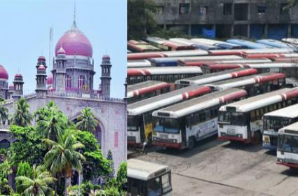 Telangana High Court Questions Government Over TSRTC Strike - Sakshi
