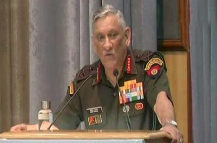Army Chief Bipin Rawat Says Pakistan Under Pressure to Act Against Terrorists - Sakshi