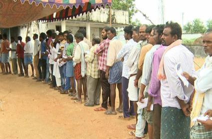 Huzurnagar By Election Polling Live Updates - Sakshi