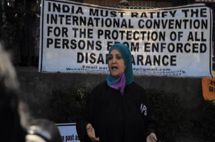 Kashmir Iron Lady Parveena Ahanger On BBC List Of 100 Most Inspiring Women - Sakshi