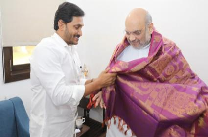 Amit Shah Happy With Reverse Tendering In Polavaram Project - Sakshi