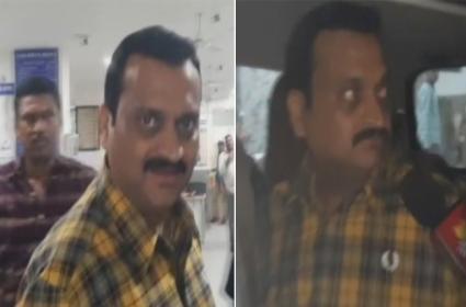 Telugu Producer Bandla Ganesh Arrested in Jubilee Hills - Sakshi