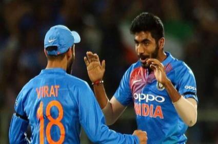 Virat Kohli And Jasprit Bumrah Maintain Top In ICC ODI Rankings - Sakshi