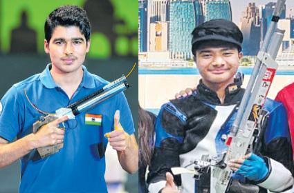 Telangana Shooters Won Gold At The Asian Shooting Championship - Sakshi