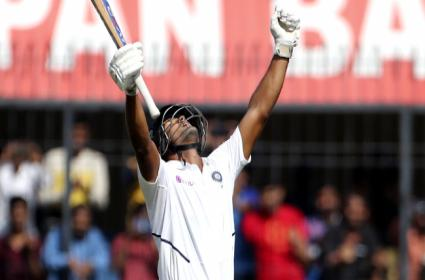 Ind vs Ban: Mayank Century Drives Team India - Sakshi