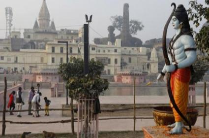 Work Begins For Ayodhya Ram Temple - Sakshi
