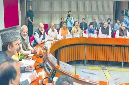Prime Minister Narendra Modi says open to discussing all issues - Sakshi