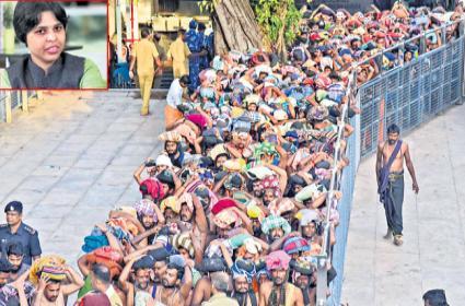 Activist Trupti Desai Says Will Visit Sabarimala On Nov 16 - Sakshi