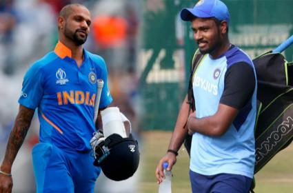 Shikhar Dhawan May Not Be Available For ODI Series - Sakshi