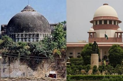 Supreme Court To Hear Review Petitions On Ayodhya Case Verdict - Sakshi