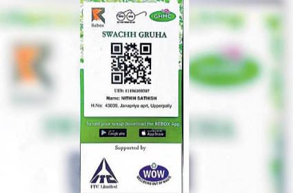 New QR Codes For Garbage Collection By GHMC - Sakshi