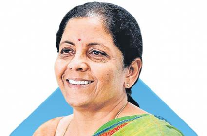 Finance Minister Nirmala Sitharaman on Forbes 100 most powerful women list - Sakshi