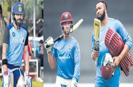 india vs west indies first maitch at chidambaram stadium - Sakshi