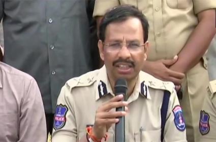Sajjanar Press Meet Over Disha Accused Encounter - Sakshi