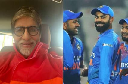 Amitabh Bachchan Reacts To Virat Kohli Notebook Gesture By Movie Dialogue - Sakshi