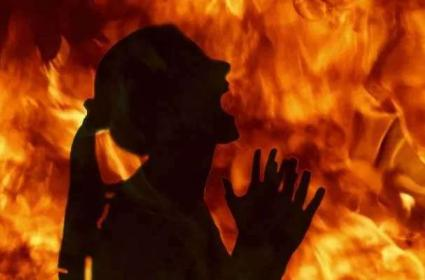 Minor Girl Burnt Alive In Tripura - Sakshi