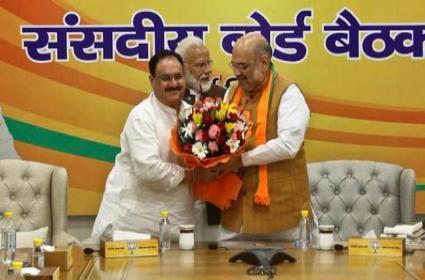 Jagat Prakash Nadda Elected Unopposed As BJP National President - Sakshi