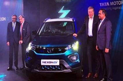 Tata Motors launches the Nexon EV launched - Sakshi