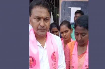 TRS Candidate, Swamiji Audio Tape Viral - Sakshi