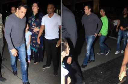 Salman Khan Loses Cool Snatches Fan Phone At Goa Airport - Sakshi