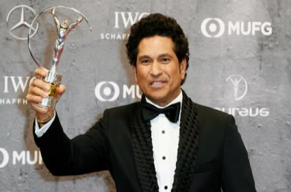 Sachin Wins Laureus Sporting Moment Award 2020 for 2011 World Cup Winning Moment - Sakshi
