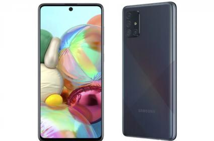 Samsung Galaxy A71 With Quad Rear Cameras launched - Sakshi