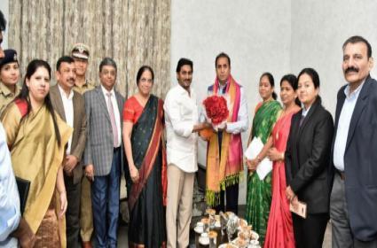 Maharashtra Special Officers Team Meet With CM Jagan Over Disha Act - Sakshi