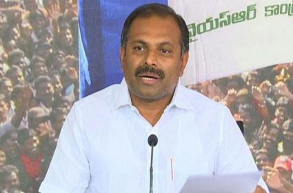 Government Chief Whip Gadikota Srikanth Reddy Fires On Chandrababu - Sakshi