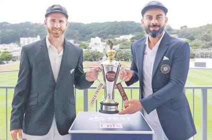 India vs New Zealand 1st Test 20 February 2020 - Sakshi