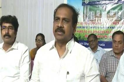 Kurasala kannababu Says Good News For Peanut Farmers In Kakinada - Sakshi