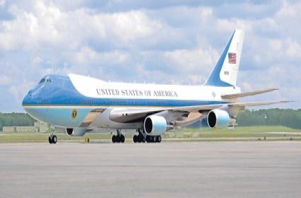 Donald Trump India Visit On Air Force One - Sakshi