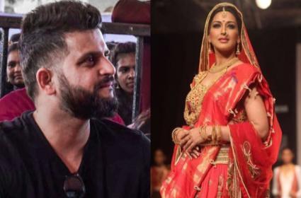 Suresh Raina Says His Celebrity Crush on Sonali Bendre - Sakshi