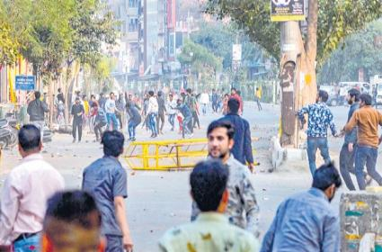 Protests intensify across India against Citizenship Amendment Act - Sakshi