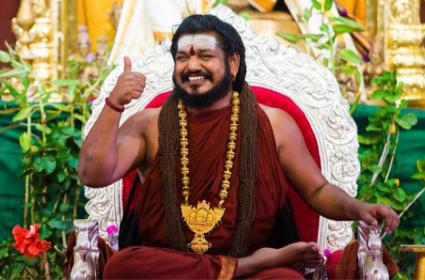Swami Nithyananda New video goes viral - Sakshi