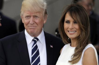 Donald Trump And Melania Trump Love Story - Sakshi