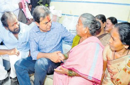 KTR Launched Few Programmes At Mahabubnagar - Sakshi