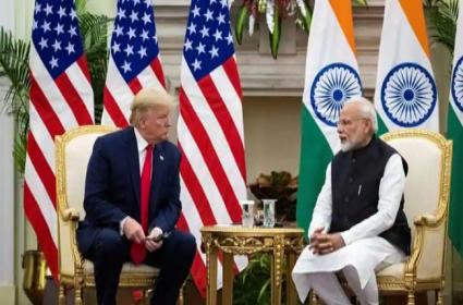 US relationship with India is now extraordinary says President Trump - Sakshi