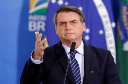 Brazil President Jair Bolsonaro Questioned On Coronavirus Deaths - Sakshi