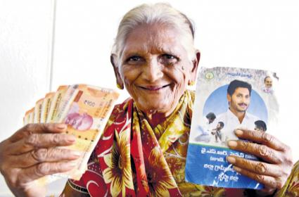 AP Govt decides to provide pensions to all from April - Sakshi
