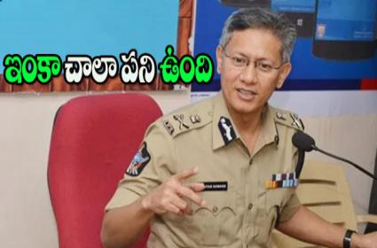 AP DGP Gowtham Sawang Wrote Open Letter To Police Families - Sakshi
