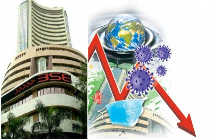 Coronavirus Break Market Growth Sensex Down 1375 points - Sakshi