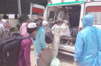 17 Burma Country People Caught in Nalgonda Sent to Hyderabad - Sakshi