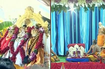 Sri Rama Navami Celebrations At Bhadrachalam - Sakshi